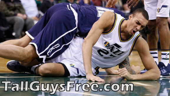 Rudy Gobert crushed