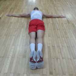 Guy 3 (Laying on Gym Floor)