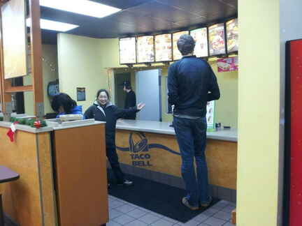 Taco Bell tall guy