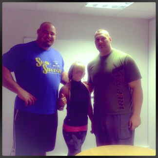 Brian Shaw and Terry Hollands