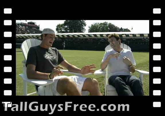 "John Isner in ""Holding Court with Justin"" from World of Tennis, Season 2"