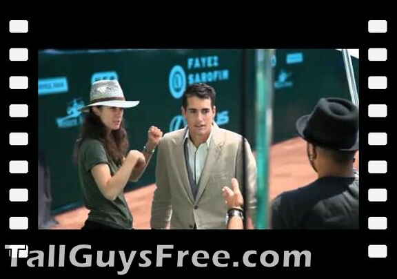 John Isner Vogue Magazine Photo Shoot