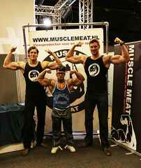 Tall Bodybuilder Sandwich