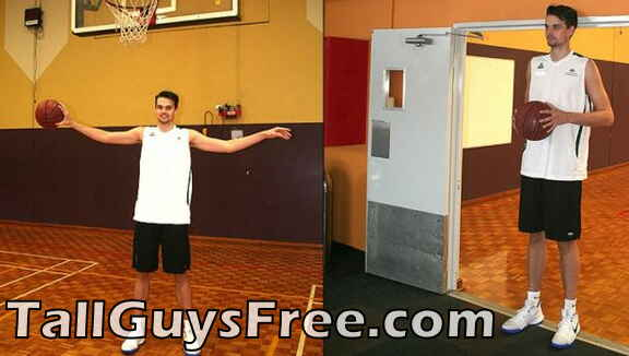 Andrew Ferguson basketball doorway