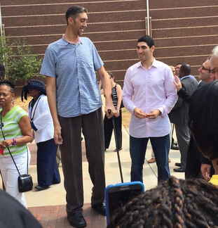 Enes Kanter Beside Sultan