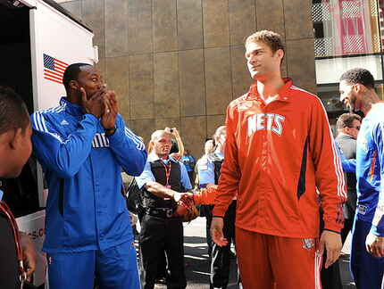 Dwight Howard & Brook Lopez