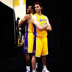 Dwight Howard & Pau Gasol