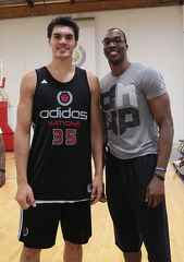 Steven Adams & Dwight Howard