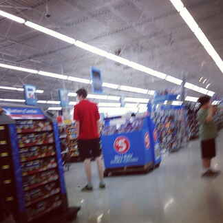 Walmart Giant tall guy