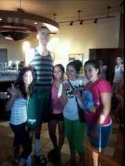 7 foot 2 starbucks