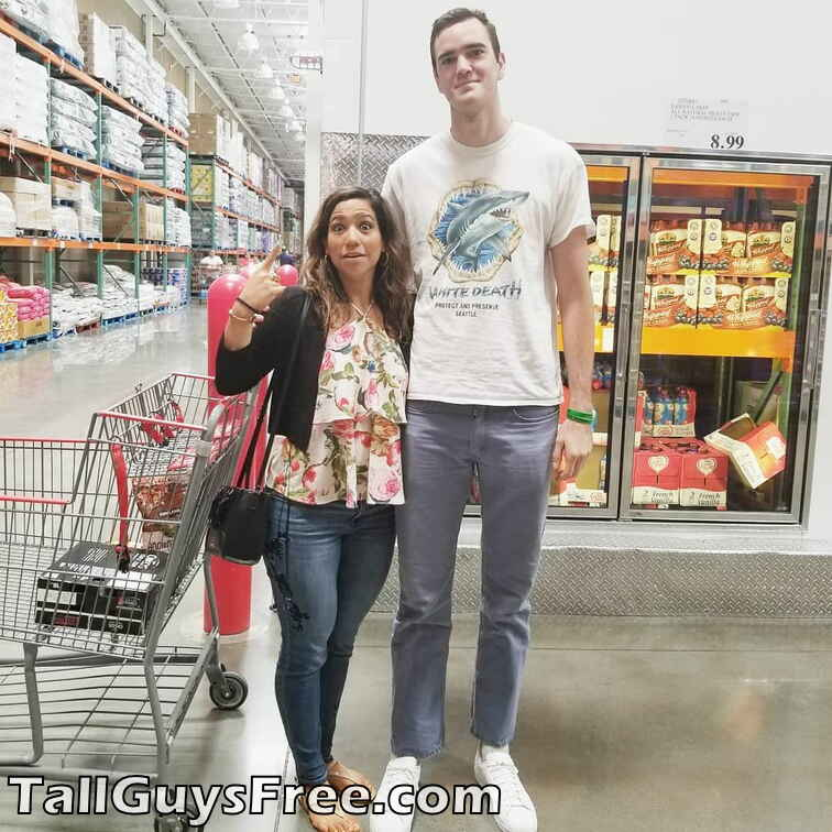 7 footer at Costco