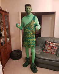 Tall Guy Costume - Green Giant