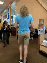 Tall Guy at Golden Corral
