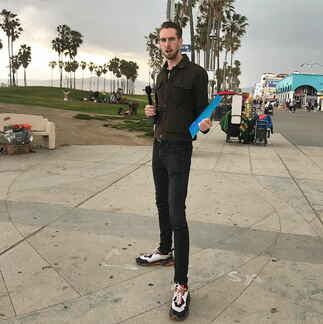 Lewis Spears - Venice Beach Boardwalk