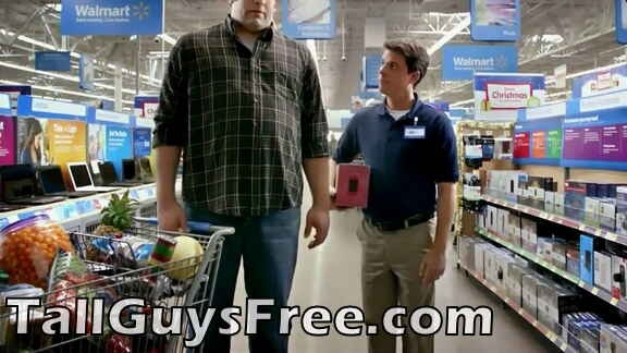 HUGE giant - Walmart commercial