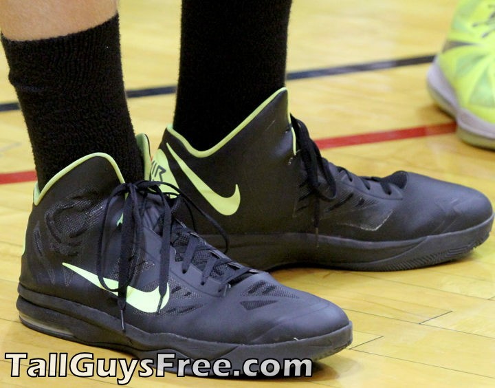 Isaac Haas' Giant Shoes