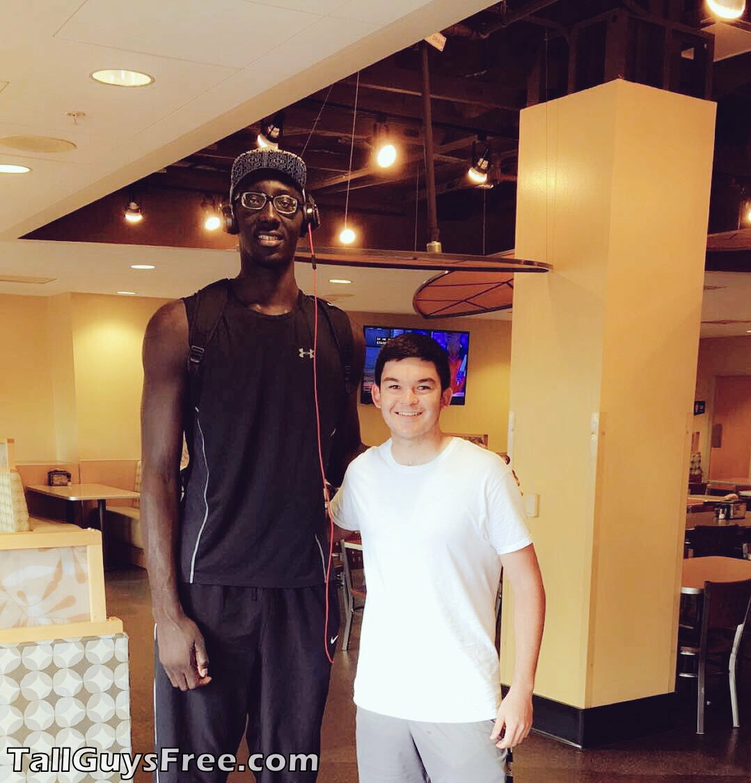 Tacko Fall & Fan