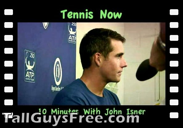 10 Minutes With John Isner