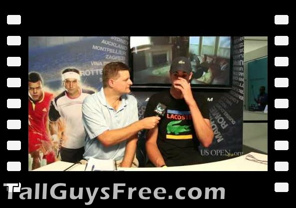 Interview with John Isner at the 2012 US Open