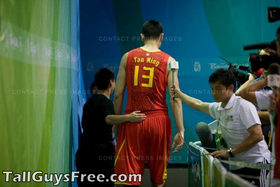 What Shoe Size Is Yao Ming