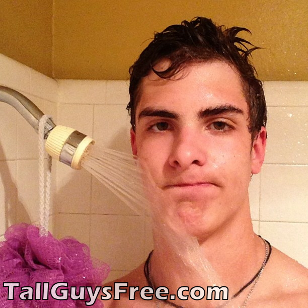 Tall Guy shower