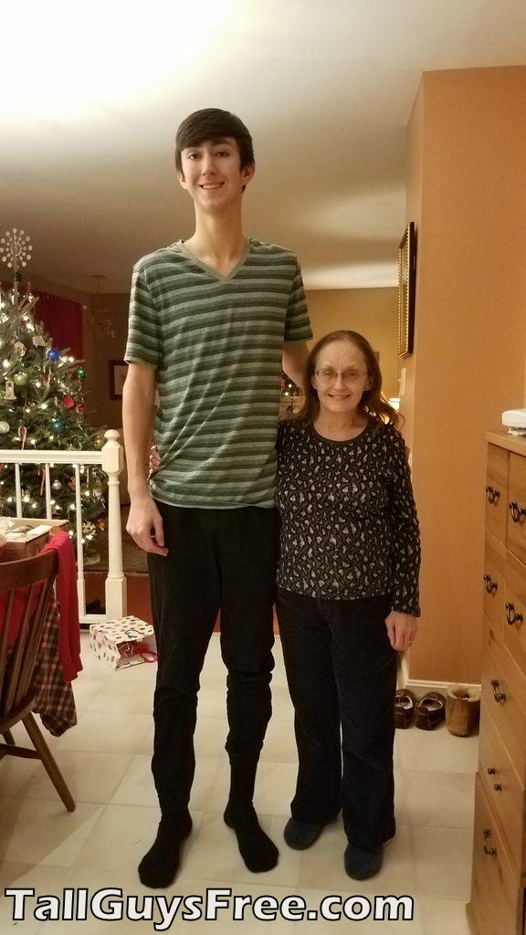 6 foot 6 tall Ethan