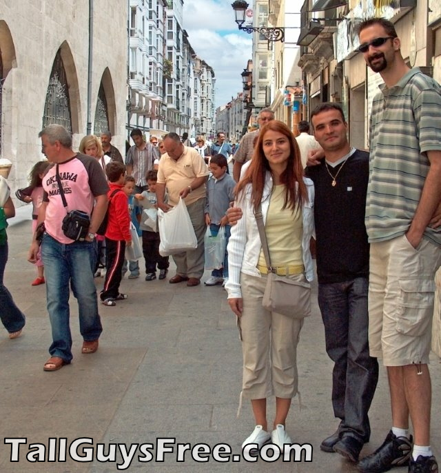 Giant tall man
