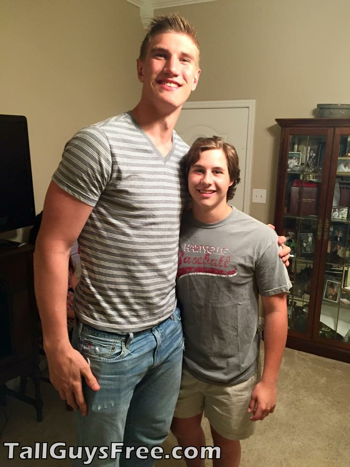 Isaac Haas is Tall