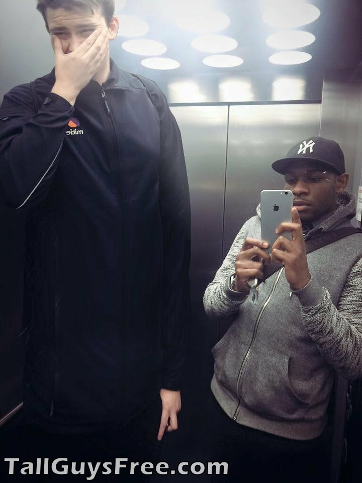 Giant in Elevator