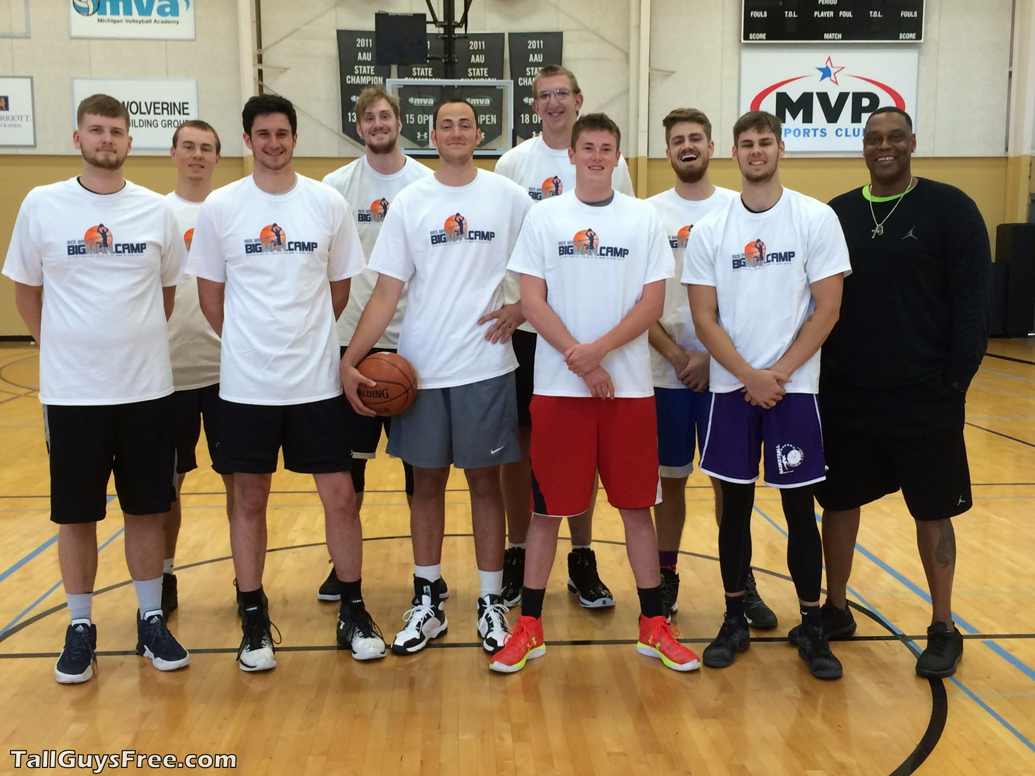 Rick Mahorn Big Man Camp