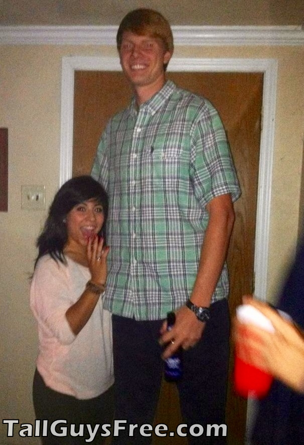Ginger Tall Guy at party